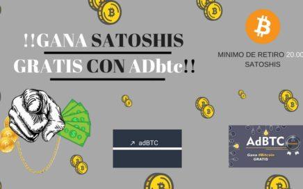 Como Ganar Bitcoins Gratis 2018 (ADbtc) - Tu Dinero Online