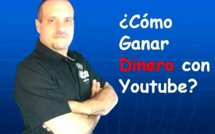 COMO GANAR DINERO CON YOUTUBE.2013