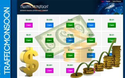 Como Ganar Dinero por Internet Gratis| Trafficmonsoon 1 | 2015 |