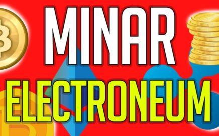 Como MINAR Electroneum con tu PC y Ganar Dinero
