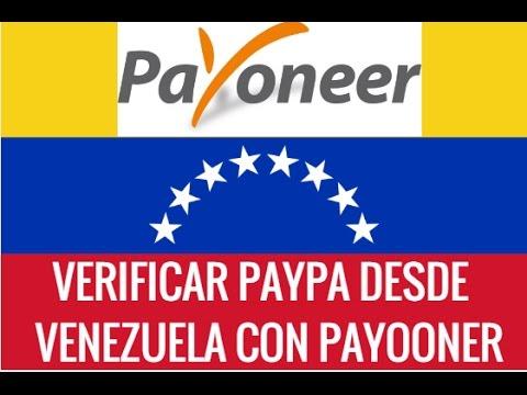COMO VERICAR MI CUENTA PAYPAL CON PAYOONER 2016 24/11/2016