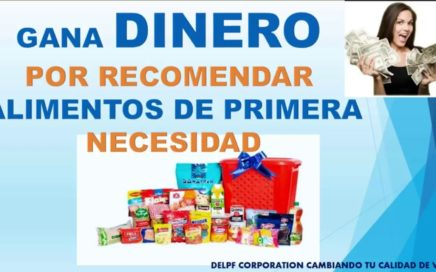 DELPF CORPORATION - GANA DINERO POR COMER Y RECOMENDAR