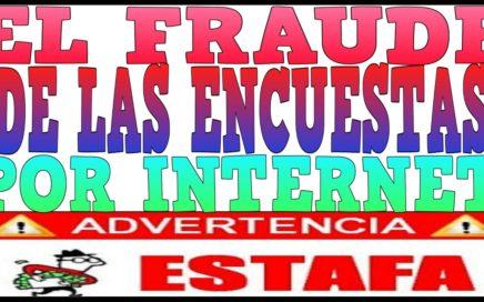 El Fraude De Las Encuestas Pagadas Por Internet CUIDADO! [Tengo Dinero]