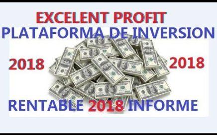 EPROFIT ANÁLISIS,INFO ,PLATAFORMA DE  INVERSIÓN RENTABLE ,GANA DINERO CON E PROFIT O BTC 15.05.2018