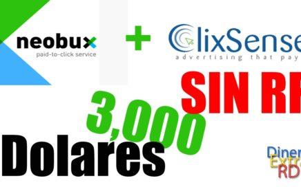 Estrategia Para Multiplicar Tus Ganancias EN NEOBUX Y CLIXSENSE|José Blog|Dinero Extra RD