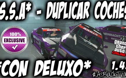 *EXCLUSIVO* - DUPLICAR COCHES MASIVO - SIN AYUDA - GTA 5 - METODO CON DELUXO - (PS4 - XBOX One)