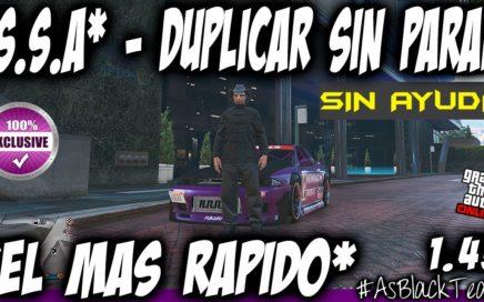 *EXCLUSIVO* - DUPLICAR COCHES MASIVO - SOLO - GTA 5 - SIN AYUDA - EL METODO MAS RAPIDO - (PS4 - XB1)