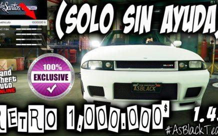 EXCLUSIVO - SIN AYUDA - RETRO 1.000.000$ - GTA5 - VENDER sin PERDER BUG - SIN MAZE BANK - (PS4- XB1)