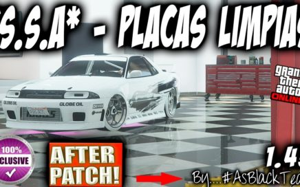 *EXCLUSIVO* - *SOLO* - DUPLICAR NUEVO METODO - PLACAS LIMPIAS - by #AsBlackTeam - GTA5 - (PS4 - XB1)