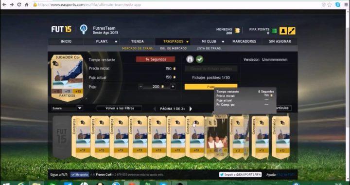 FIFA 15 | Como ganar Dinero UltimateTeam | Web App