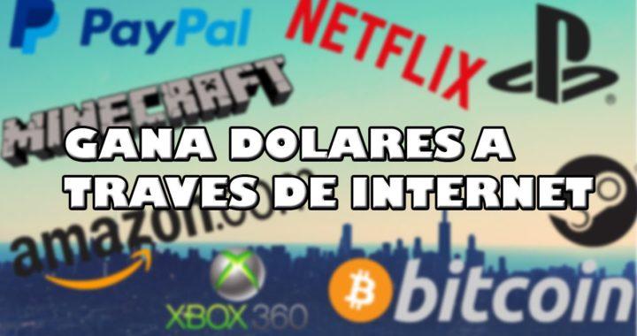 GANA DE 20$ A 50 DOLARES | Pagina para Ganar Dinero por Internet 2017 | Rápido, Fácil