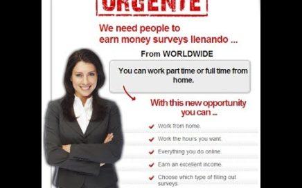 Gana dinero con encuestas Review   Aprenda cómo trabajar desde casa Utilizando encuestas pagadas