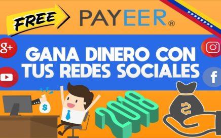 GANA DINERO CON TUS REDES SOCIALES   VKTARGET - IPWEB   GANAR RUBLOS