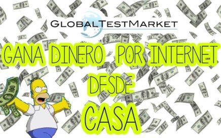 ¡Gana dinero desde casa!|2018|Globaltestmarket|como ganar dinero desde casa 2018|Gunthersfilms