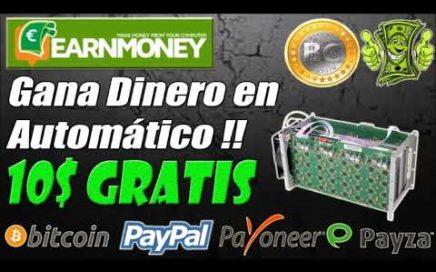 gana dinero por internet, 10 DOLARES GRATIS AL EMPEZAR, descarga instala y gana