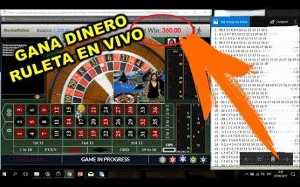 Ganando $300 dólares con dealer en vivo  RuletPro 5 - Juan Sagaz