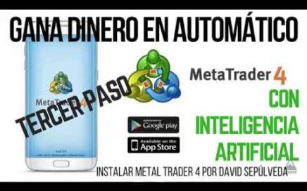 GANAR DINERO EN AUTOMÁTICO - Instalar y configurar Metal trader 4