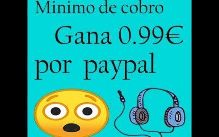 Gane 0.99€ Facil y Rapido Solo escuchando muscia