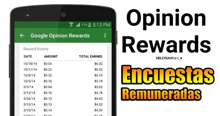 Google Opinion Rewards | Gana dinero para el Play Store haciendo encuestas | App para ganar dinero