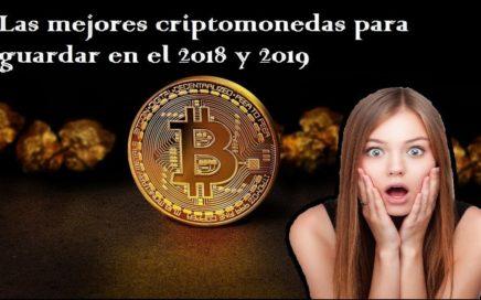 Las mejores criptomonedas para invertir el 2018 y 2019. Ganar dinero con bitcoin se podrá? Siii !!!