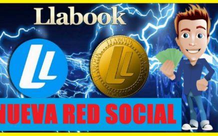 LLABOOK  NUEVA RED SOCIAL REGALA $1.00 DÓLAR POR REFERIDO - IGUAL A  FACEBOOK