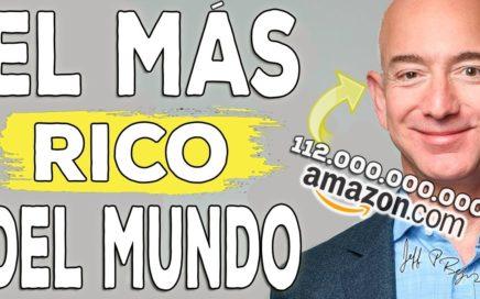 Los 5 secretos del empresario más rico del mundo para ganar dinero. Jeff Bezos y Amazon