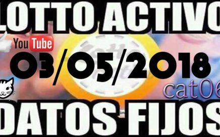 LOTTO ACTIVO DATOS FIJOS PARA GANAR  03/05/2018 cat06