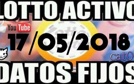 LOTTO ACTIVO DATOS FIJOS PARA GANAR  17/05/2018 cat06