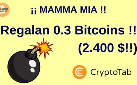 Mejor Estrategia para Ganar Bitcoins Gratis | Cryptotab: Concurso 0.3 BITCOINS !! HD (2018)