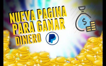 Nueva Pagina para Ganar Dinero (5€ diarios) // 2018