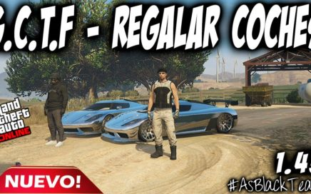 "*NUEVO* - DAR o REGALAR COCHES a AMIGOS - ""NEW - G.C.T.F"" - GTA 5 - COCHES GRATIS - (PS4 - XBOX One)"