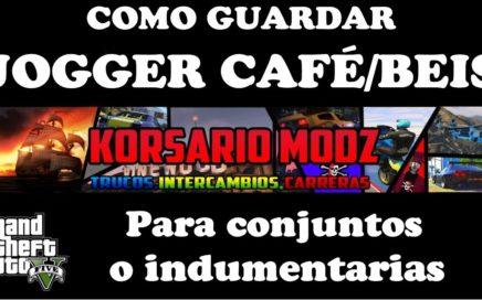 NUEVO TRUCO DE GTA 5 ONLINE COMO TENER JOGGER CAFÉ PARA CONJUNTOS O INDUMENTARIAS PS4 XBOX