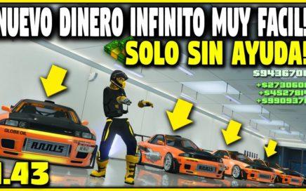 NUEVO! TRUCO DINERO INFINITO *SOLO SIN AYUDA* MEJORADO! GTA 5 ONLINE 1.43 (PS4 XBOX ONE Y PC)