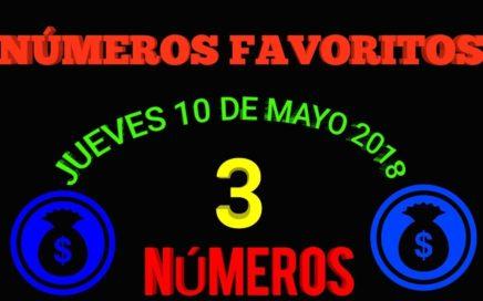 NÚMEROS FAVORITOS PARA HOY JUEVES 10 DE MAYO 2018 3 NUMEROS SEGUROS PARA HOY PALE SEGURO