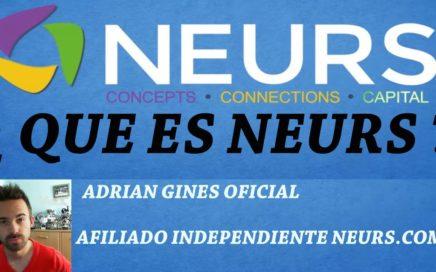 Oportunidad Pionera de Ganar dinero con Neurs | Neurs.com | Alimento Sonrisas!