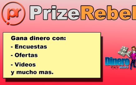 PrizeRebel | Gana dinero con encuestas | Como hacer dinero