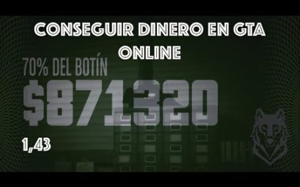 TRUCO PARA POBRES - GTAV 1.43 - GANAR DINERO SUPERFACIL - (PS4 - XB1)