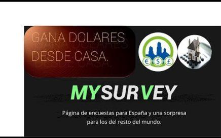 Video para ganar dinero desde casa con My Survey. | Derrota la Crisis.