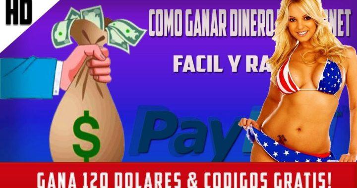 ¡120 DOLARES PARA PAYPAL! * COMO GANAR DINERO POR INTERNET! (CODIGOS XBOX,STEAM,NETFLIX  )