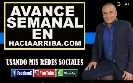 $1425 dólares ganados por Oskar Rios en una semana con HaciaArriba y mis redes sociales
