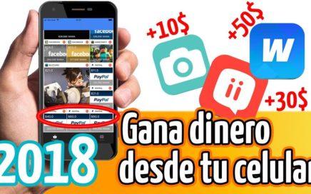 3 APPS CONFIABLES GANAR DINERO desde tu celular!! 100% Comprobado