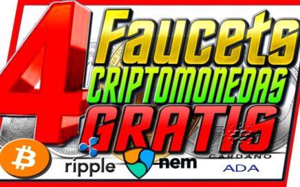 4 Faucets Para Ganar Criptomonedas Gatis [ Como Ganar Dinero Con Bitcoin Gratis ]