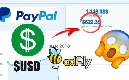 Como GANAR DINERO CON ADFLY | Ganar dinero con PayPal con LINKS Y WEBSITE
