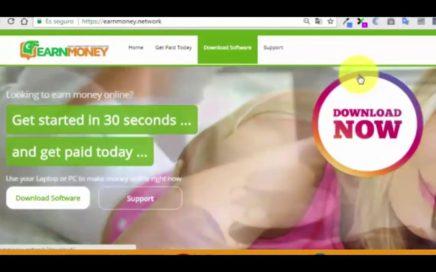 Como ganar dinero  con el Software EarnMoney (2018)