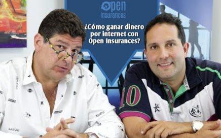 ¿Cómo ganar dinero por internet con Open Insurances?