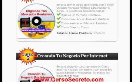Como Ganar Dinero Por Internet , Curso Secreto, Ganar Dinero desde Casa Facil Rapido y Constante