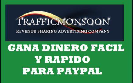 Como Ganar Dinero rapido Por Internet Metodo Trafficmosoon