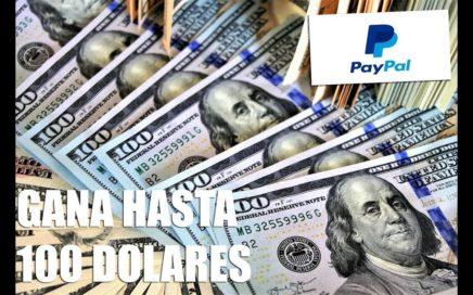 COMO GANAR HASTA 100 DOLARES EN UN DIA DESDE CASA|PAYPAL|2018 | ANDROID