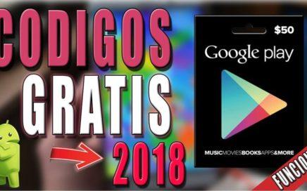 COMO GENERAR CODIGOS DE GOOGLE PLAY GRATIS 2018 JUNIO (FUNCIONANDO)