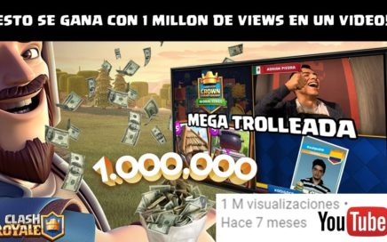 ¿CUANTO DINERO SE GANA EN YOUTUBE CON UN VIDEO DE 1 MILLÓN DE VIEWS? | KManuS88